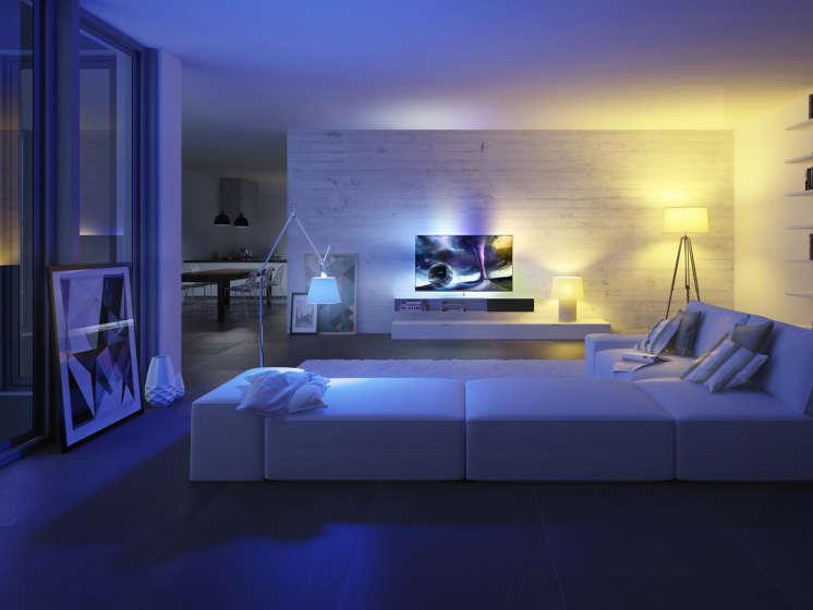 goedkope hue lampen top philips hue gu white and color starter pack lampen met bridge with. Black Bedroom Furniture Sets. Home Design Ideas