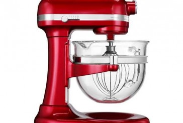 Krachtige 6 liter Artisan keukenrobot met transparante mengkom