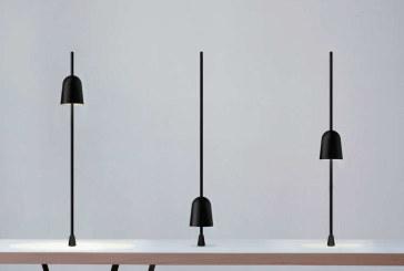 Luceplan Ascent: lamp verschuiven om te dimmen