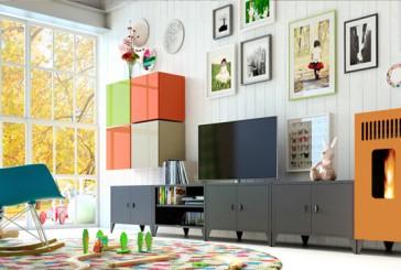De pelletkachel als modulair meubel