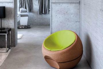 De Spherical zetel: geen kruk, wel kurk!