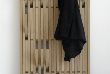 Piano kapstok: laat het eens breed hangen