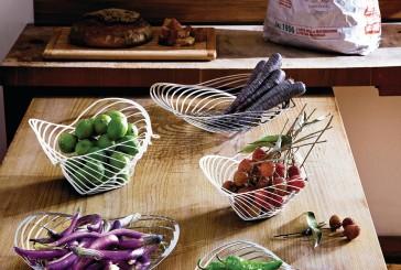 Futuristische fruitschaal voor Alessi