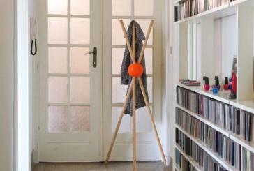 De LOCK-kapstok van Tamawa zorgt op eigen houtje voor meer kleur