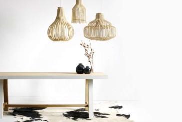 Atelier N/7 balanceert met deze hanglampen tussen ambacht en design