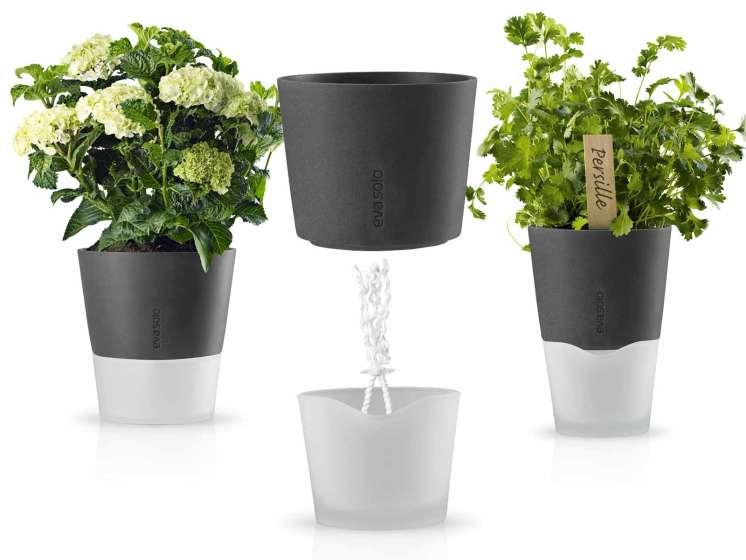 Plantenbak Met Waterreservoir.Flowerpot Plantenbak Met Ingebouwd Waterreservoir