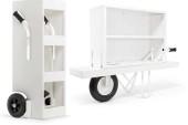 Alles loopt op wieltjes met deze Mobile & Trolley Cabinet