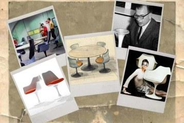 Flashback naar de 'space age' met Saarinen's Tulip Chair