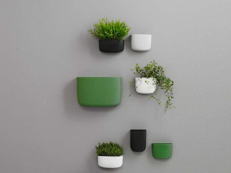Aan De Muur : Hang je kamerplanten eens aan de muur