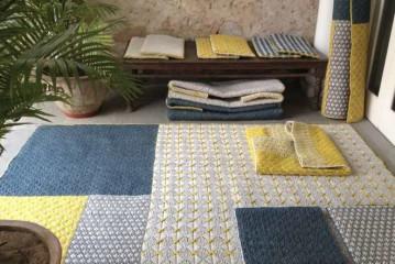 Belgische Charlotte Lancelot met nieuwe tapijten voor Gan