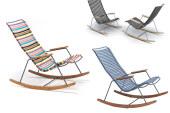 Click Rocking Chair van Houe: lekker buiten zitten in een schommelstoel