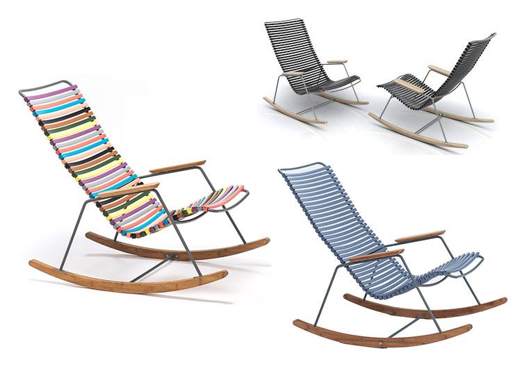 Welp Click Rocking Chair van Houe: lekker buiten zitten in een DP-42