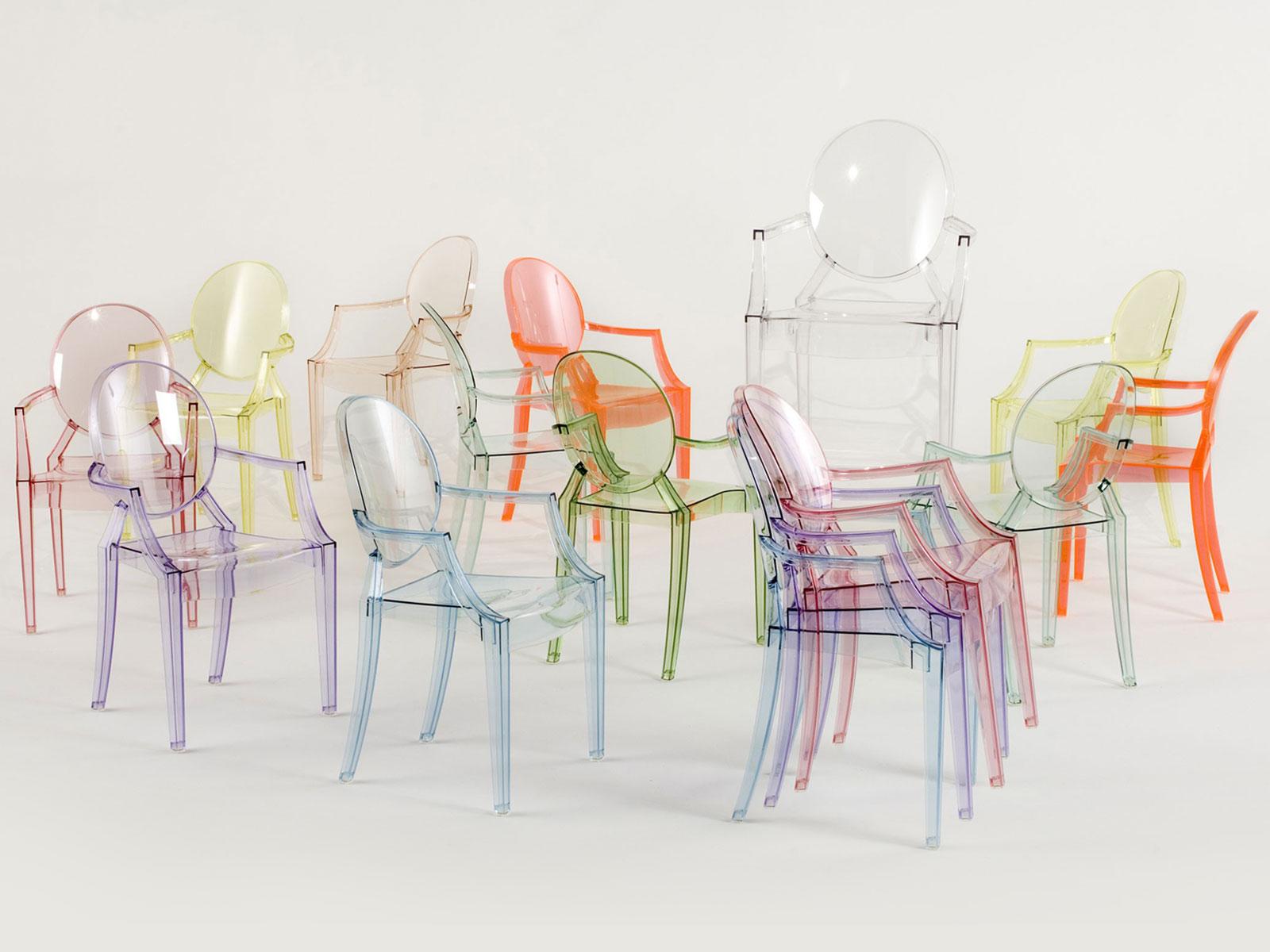 Transparant maar zeker niet onzichtbaar: de Louis Ghost stoel
