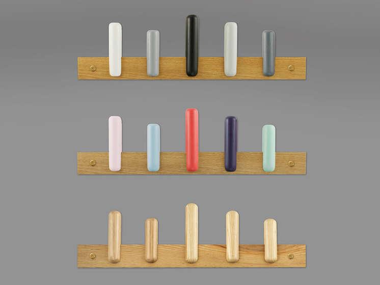 Speels minimalisme met deze Play kapstok van Normann Copenhagen