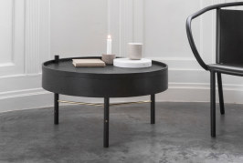 Praktisch & prachtig: de Turning Table salontafel van Menu