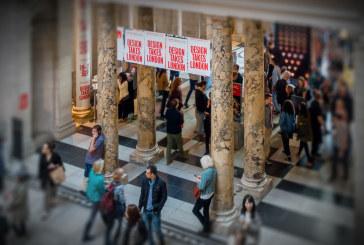 Gespot tijdens het London Design Festival