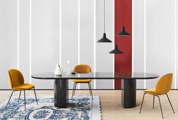 GUBI Moon Collection: donkere tafels die de ruimte verlichten