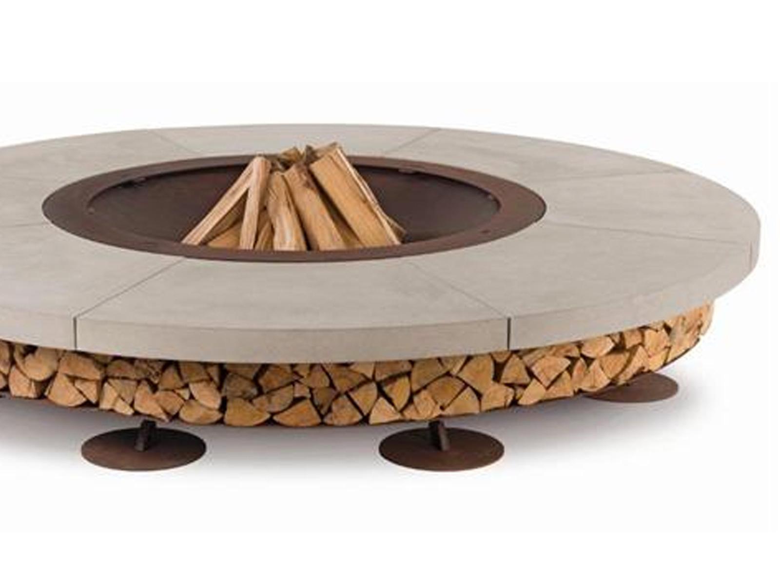 Desire for fire verscheidene mooie manieren om hout op te slaan - Cortenstaal fabrikant ...