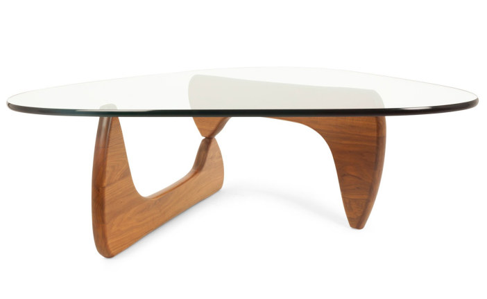 Na 6 decennia nog steeds perfect in balans: de Noguchi Coffee Table
