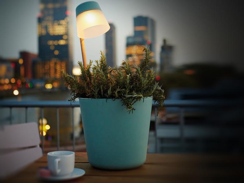 Plaats groen ook na zonsondergang in de spotlights!