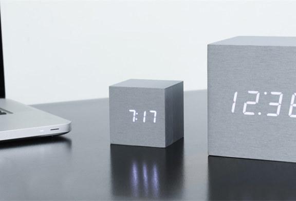 The bigger, the better: ontdek de nieuwe Gingko Maxi Cube LED klok