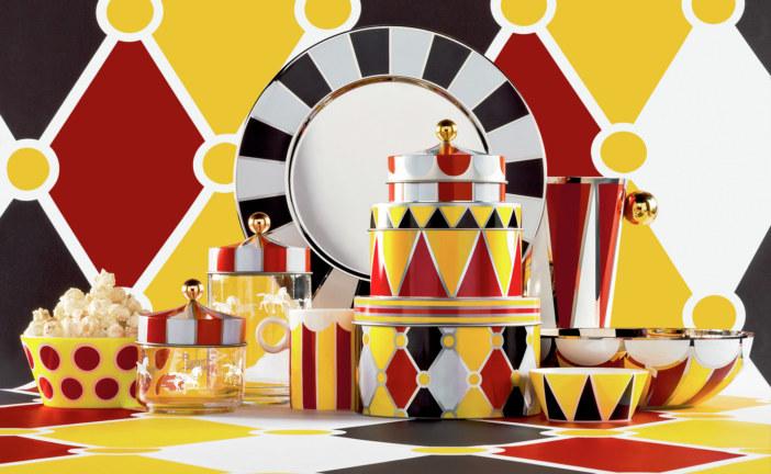 Haal het circus in huis met de najaarscollectie van Alessi