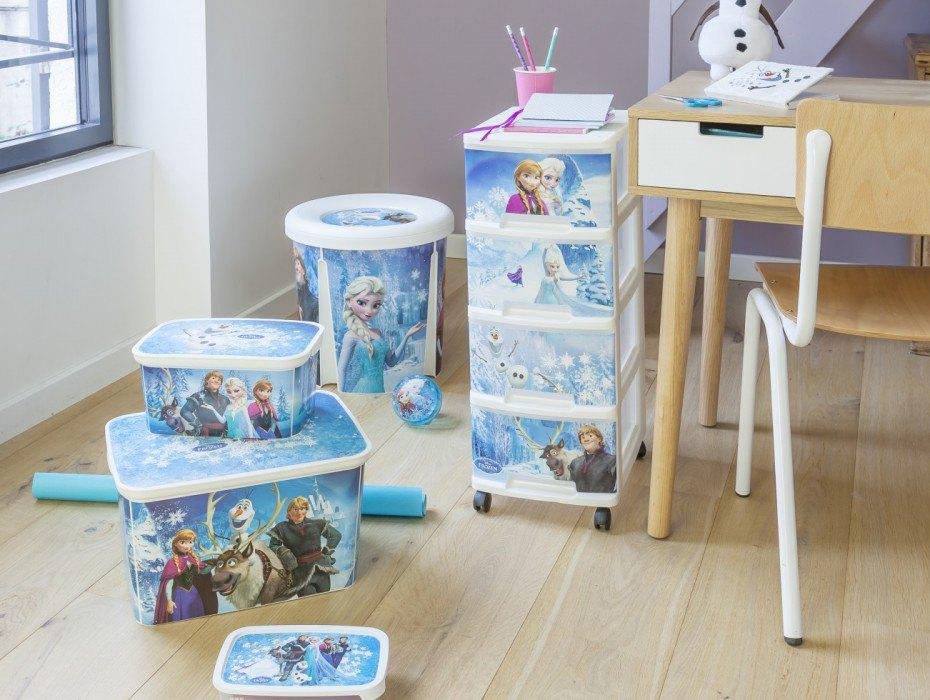 Vrolijk opruimen met Frozen en StarWars